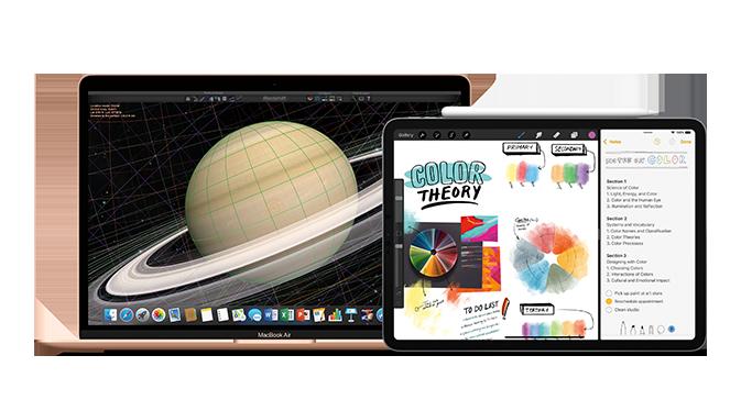 Mac e iPad Pro