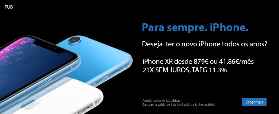 Para sempre. iPhone