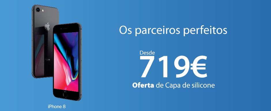 iphone 8 + Capa Apple Silcone