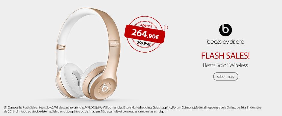 BEATS - Solo2 Wireless Headphones - Gold